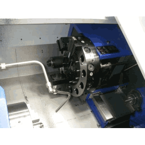 Ajax AJSB250 Slant Bed CNC Lathe with Live Tooling