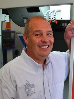 Ian Fenton Sales Manager Ajax Machine Tools
