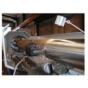 Ajax AM400 Lathe Cutting Inconel